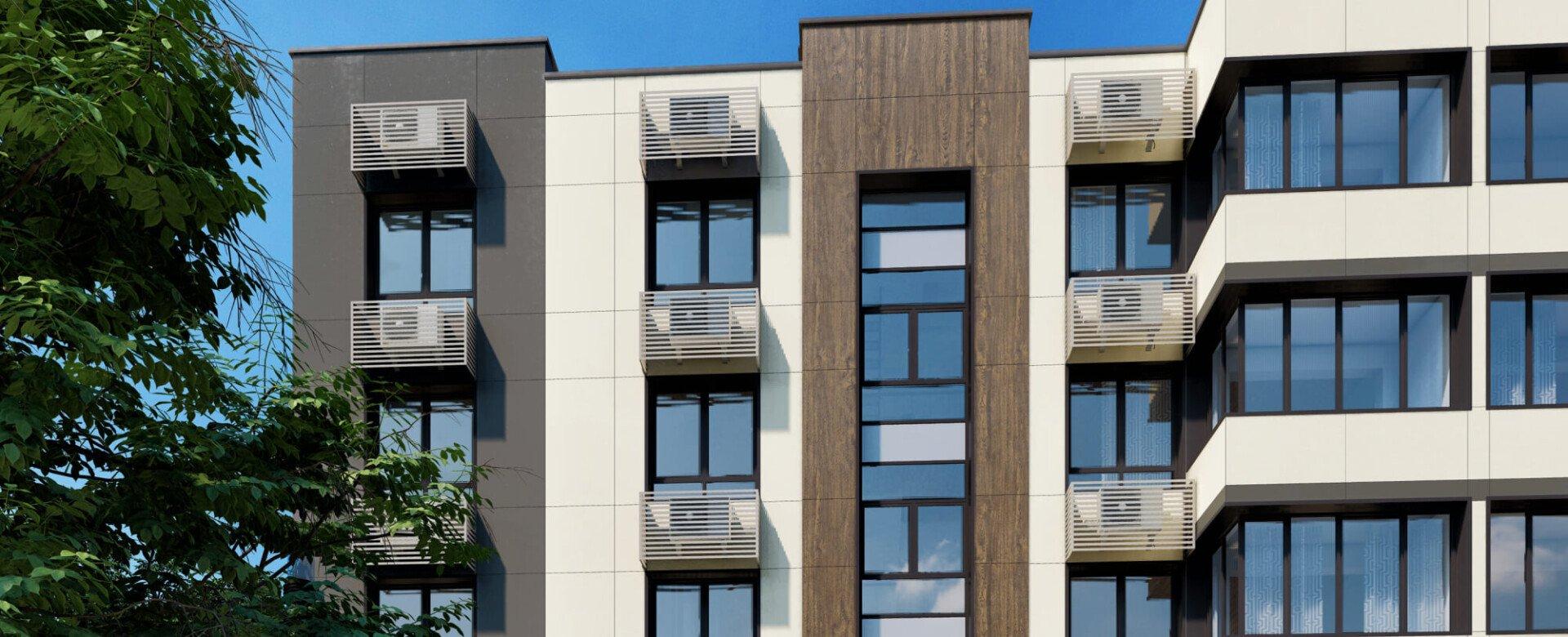 Лаконично интегрированные в окружающую среду фасады
